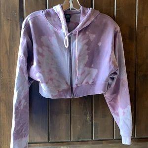 Wild Fable cropped tie dye hoody medium